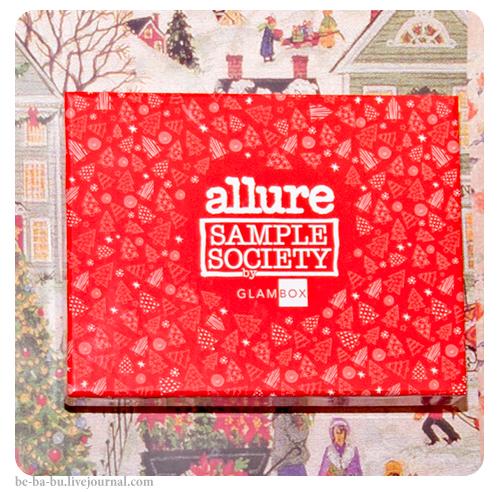 Allure Sample Society by Glambox N12. Обзор.