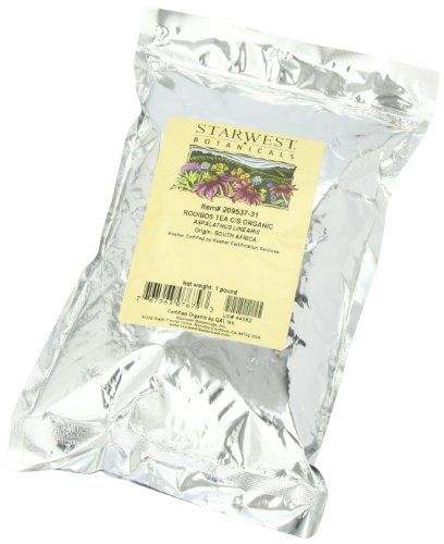 Starwest Botanicals, Rooibos Tea C/S Organic. Обзор, отзыв.