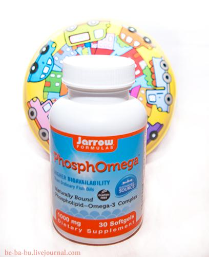 Полезное с iHerb: Jarrow Formulas, PhosphOmega, Omega-3 Complex. Обзор, отзыв.