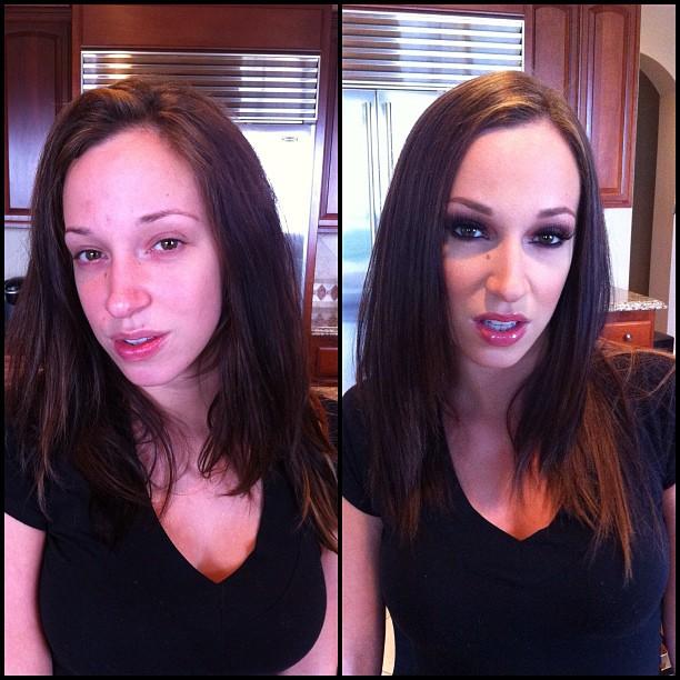 Порноактрисы без макияжа