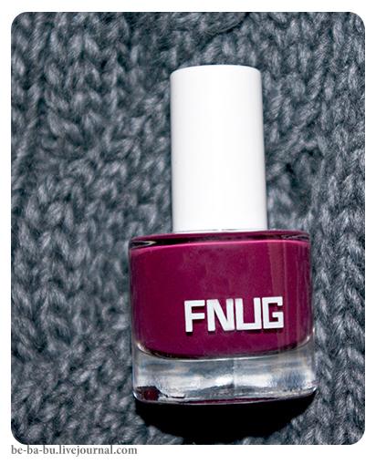 Лак для ногтей Fnug №53 - After Party. Обзор, отзыв, свотчи.