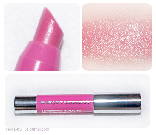 Chubby Stick Moisturizing Lip Colour Balm - Woppin' Watermelon. Отзыв, обзор, свотчи.