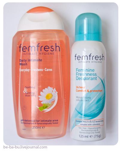 Гель и дезодорант от Femfresh. Обзор, отзыв.