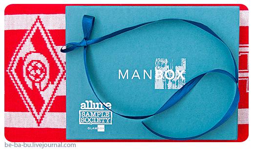 Allure Sample Society by GlamBox - ManBox. Отзыв, обзор.