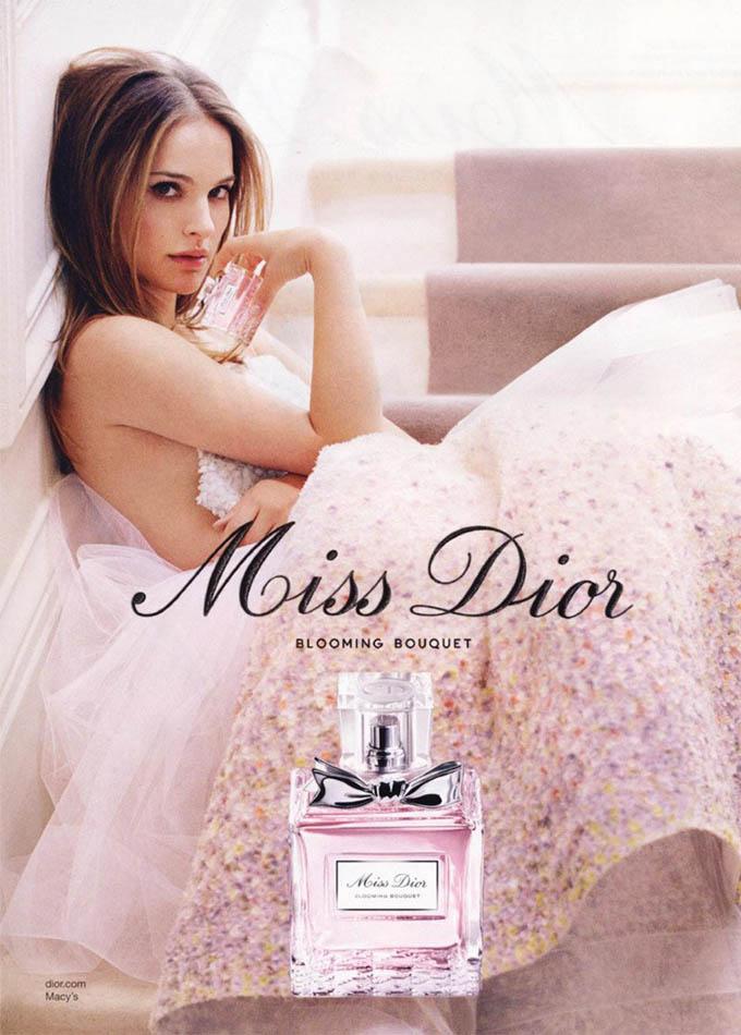 Натали Портман в рекламе нового аромата от Dior