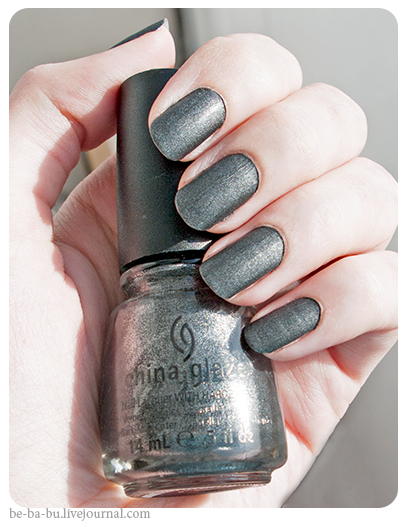 China Glaze Hunger Games Collection - Stone Cold. Обзор, отзыв, свотчи.