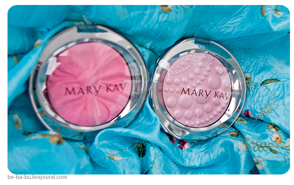 Пудры Mary Kay Sheer Dimensions - Нежный жемчуг (Pearls) и Розовый шелк (Ribbon). Отзыв, обзор.