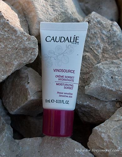 Caudalie увлажняющий крем-сорбет Vinosource