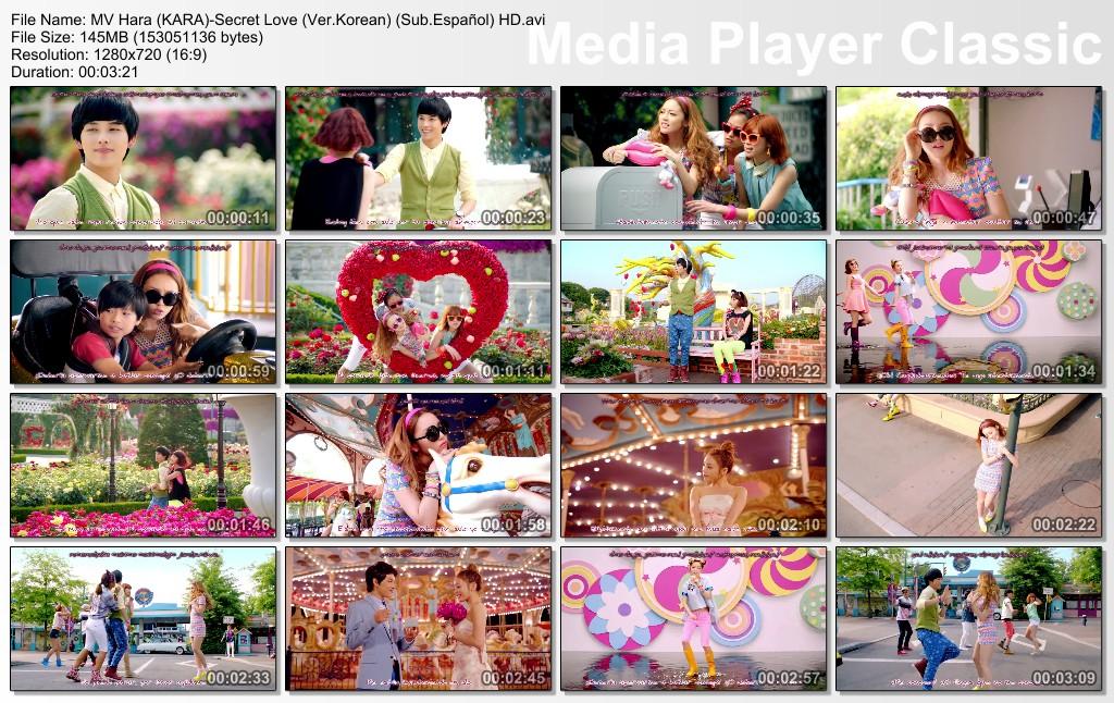 MV Hara (KARA) - Secret Love (Ver Korean) (Sub Español) HD: bea81