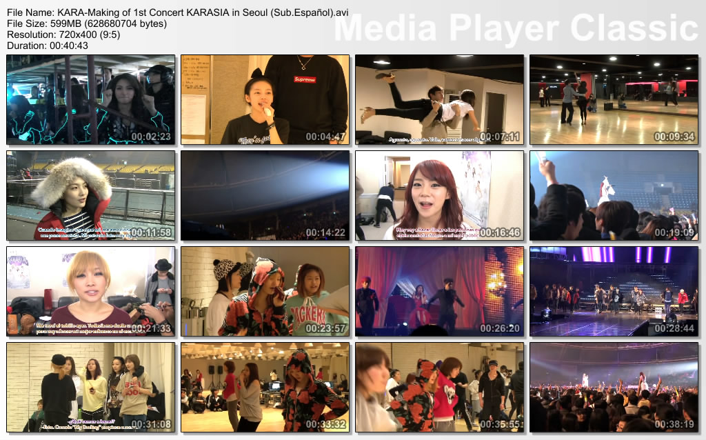 KARA-Making of 1st Concert KARASIA in Seoul (Sub.Español)