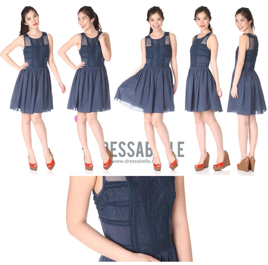 Dressabelle Chandelier Lace Dress - SGD 27