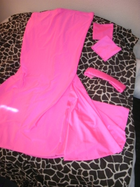 Candy pink skirt set - the full kit & caboodle
