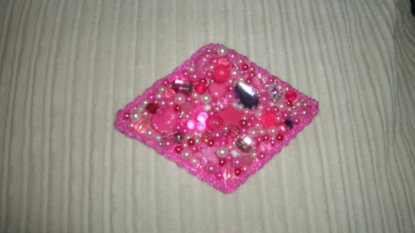 Hair clip front