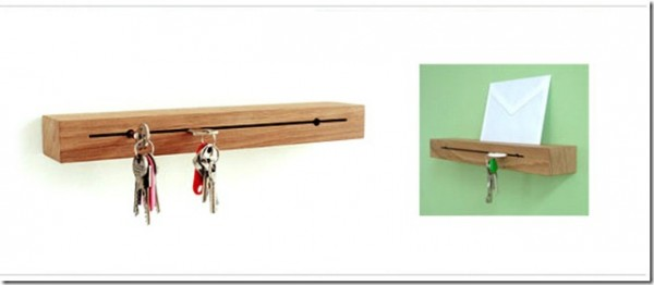 Вешалки для ключей из дерева