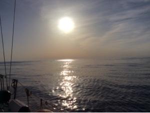 Фото из атлантики, передано через Iridium GO