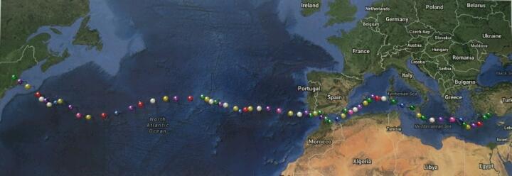 5 000 миль из Новой Англии в Турцию на парусной яхте Eagle