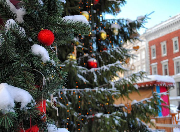 Великолепные фото зимней Риги