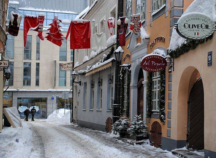 Великолепные фото зимней Риги2