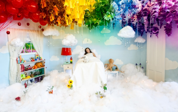 Цветные сны юной принцессы длиной в два года