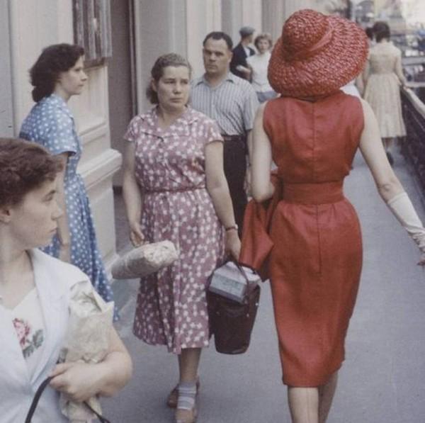 Модели Dior в СССР