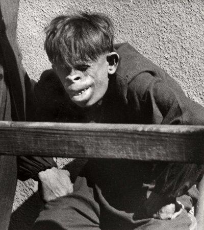 Человек-обезьяна, найденный в джунглях Бразилии в 1937 году1