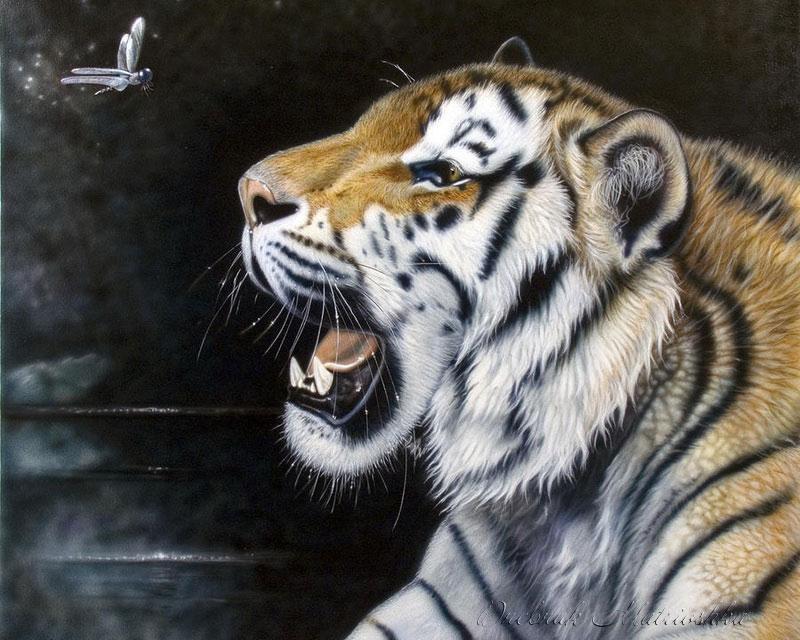 реалистичные портреты животных1