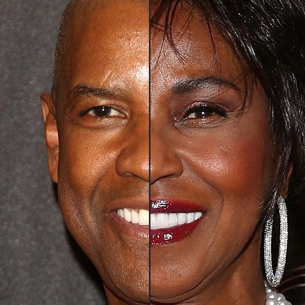 Знаменитые пары, которые похожи друг на друга1