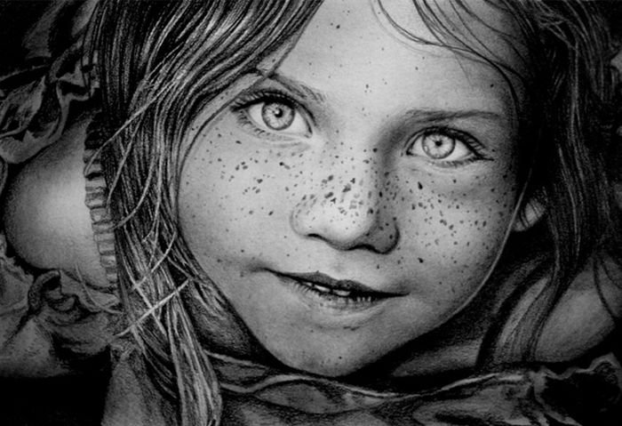 Из фото рисунок карандашом в Фотошопе - YouTube