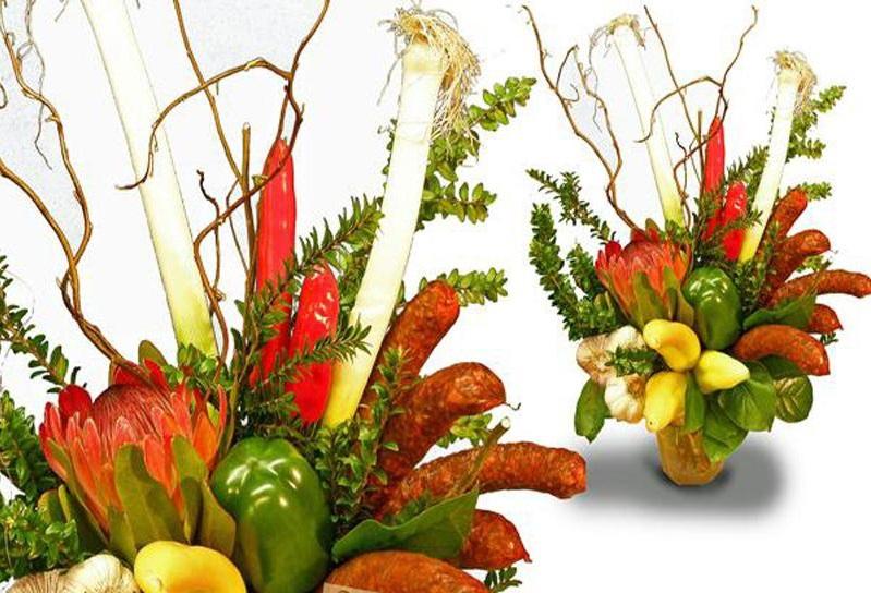 Букет овощи