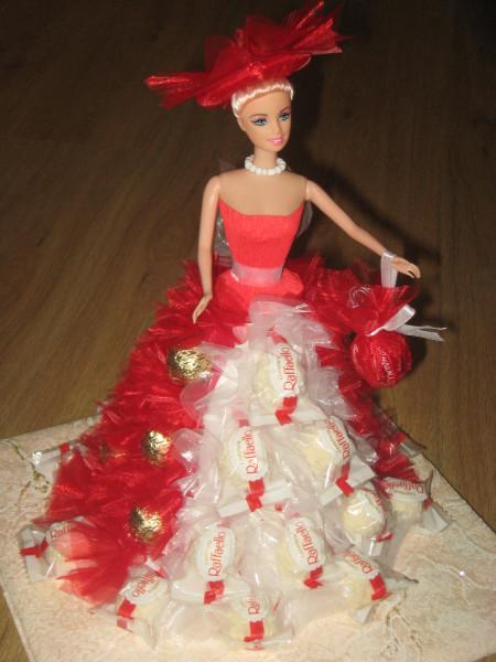 Барби с конфетами своими руками фото 1069