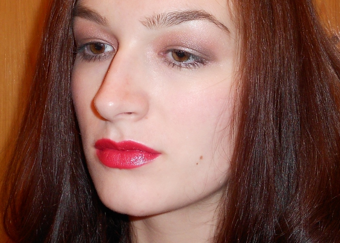 5 Макияж с бордовой помадой Shiseido # Sweet Pea RD 304 Perfect Rouge Lipstick by beauty-galaxy