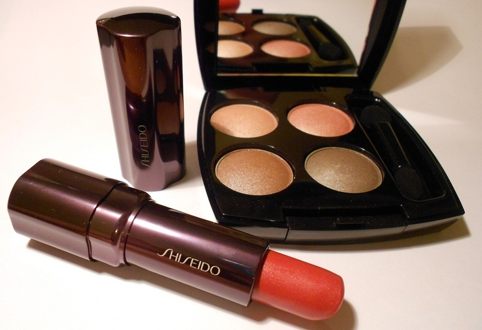 1 помада Shiseido Sweet Pea RD 304 Perfect Rouge Lipstick by beauty-galaxy