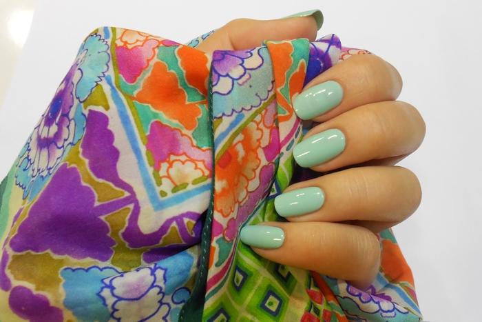 7 летний лак Essie # 99 Mint Candy Apple by Beauty-Galaxy