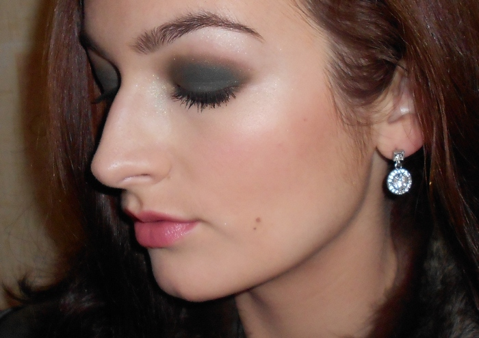8 New Fall-Winter 2012 Dior Golden Jungle 5 couleurs designer #308 Khaki design eyeshadow palette look, make up by beauty-galaxy