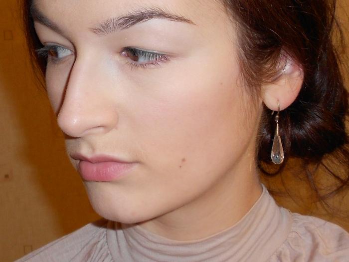 Burberry velvet foundation - long wear fluid foundation, Trench №203 make up