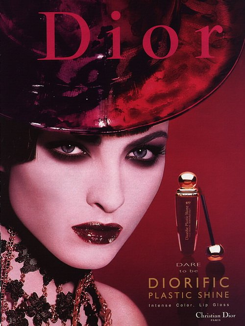Make up poster - Christian Dior Magazine Advert - Dare to be Diorific collection by Tyen