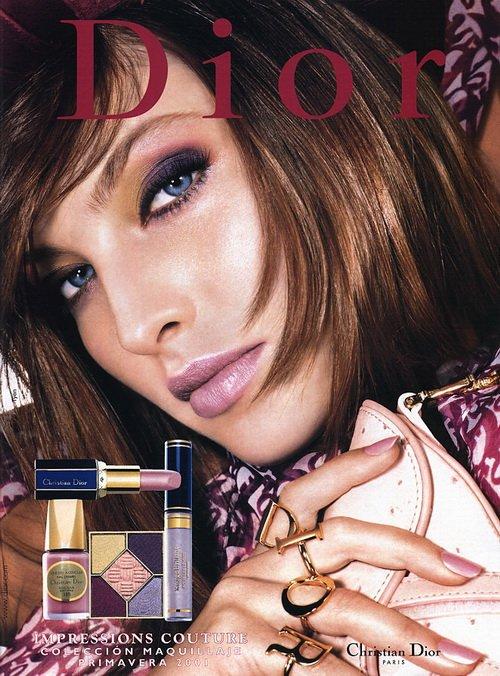 Make up poster - Christian Dior Magazine Advert - Spring 2001 by Tyen