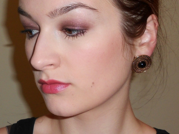 beauty-galaxy make up with Burberry eyeshadow #mulberry, Dior addict lipstick #backstage RSCN9858_2 +_н2