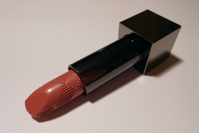 Burberry Lip Cover Lipstic No.23 English Rose (photos, swatches, review, makeup, look)