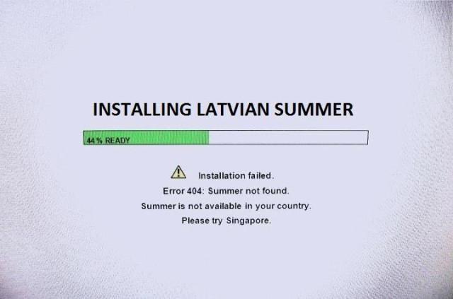 latvian summer