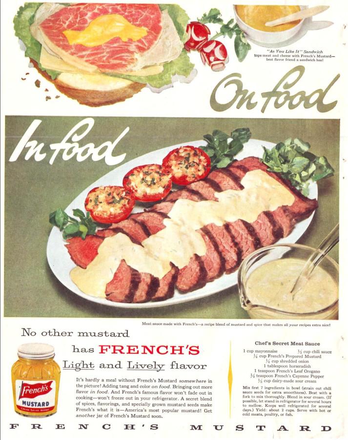 French's Mustard, 1957