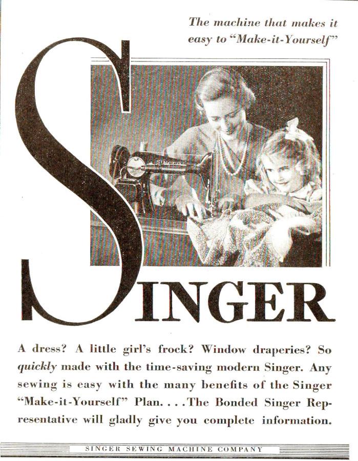 Singer 1935