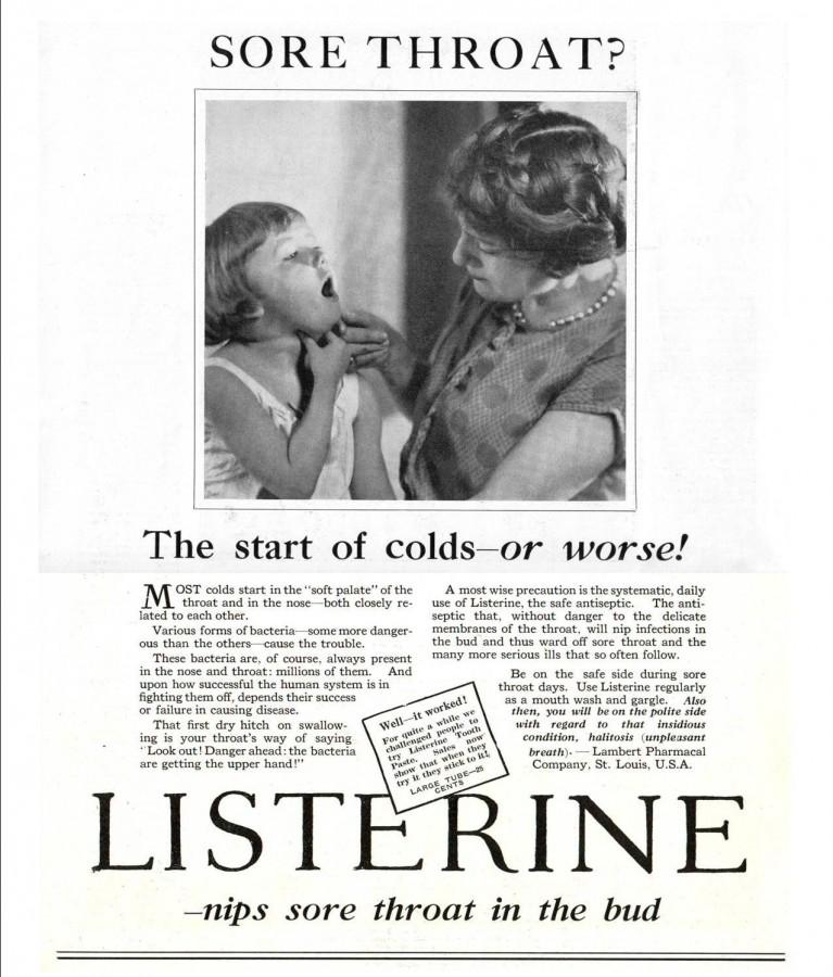 Listerine 1927