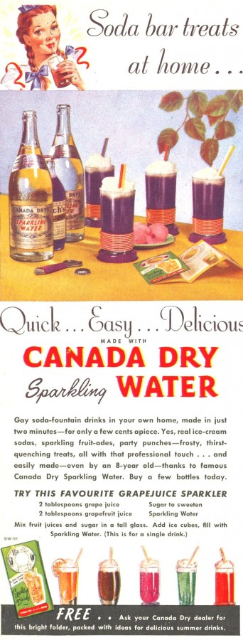 Canada Dry 1947