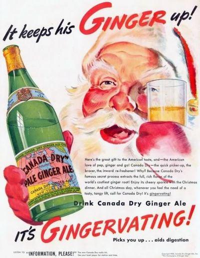 Santa Ginger Ale