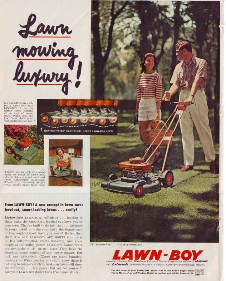 Lawn Boy 1957