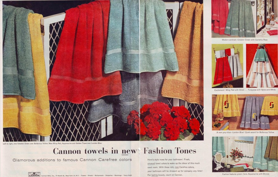 Cannon Towels 1956