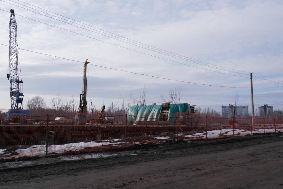 Строительство Фрунзенского моста в Самаре. http://samara-ru.livejournal.com/