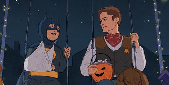 Halloween nightbannerbeccj