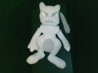 Mewtwo plush - VERY common!